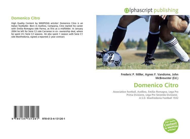 Domenico Citro Domenico Citro 9786134131261 6134131261 9786134131261