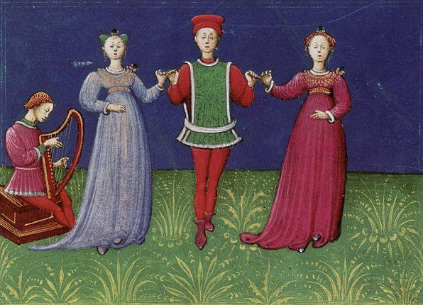Domenico da Piacenza Espectculos y fiestas durante el Quattrocento Aparences
