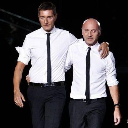 Domenico Dolce Stefano Gabbana and Domenico Dolce Dolce Gabbana Pinterest