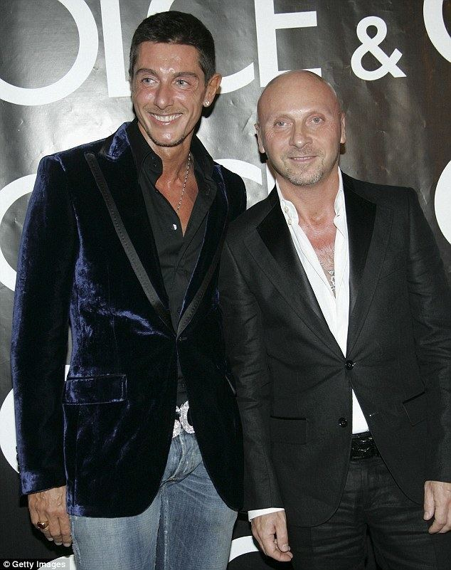 Domenico Dolce Elton John calls on fans to boycott Dolce Gabbana Daily Mail Online