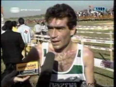 Domingos Castro Atletismo Crosse Itlica em Sevilha 19881989 Vitria