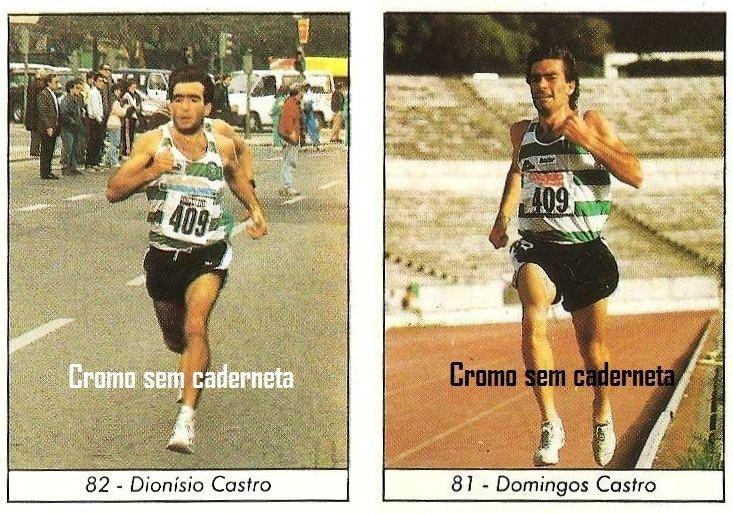 Domingos Castro Cromo sem caderneta 354 DIONSIO CASTRO 355 DOMINGOS