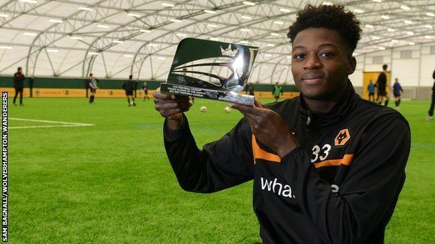 Dominic Iorfa BBC Sport Dominic Iorfa Wolves defender wins Football