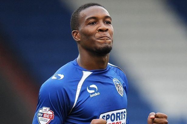 Dominic Poleon Oldham Athletic 1 Wigan Athletic 1 League One Match