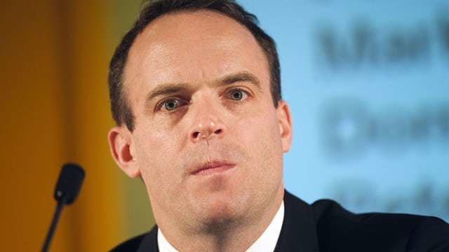 Dominic Raab Dominic Raab accused of stupid and offensive food bank comments