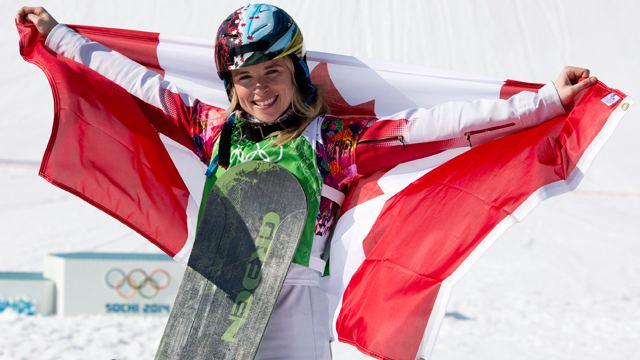Dominique Maltais Canada39s Maltais wins silver in snowboard cross Sportsnetca
