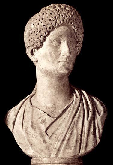 Domitia Longina Domitia Longina the wife of Domitian Rome Capitoline
