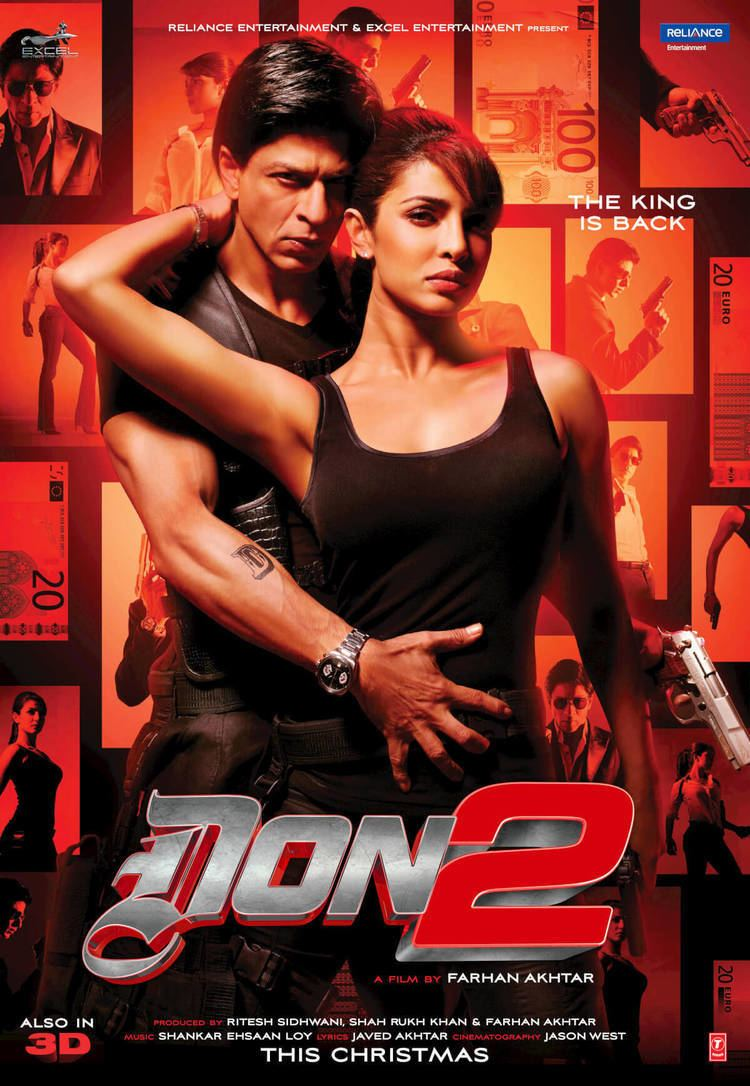 Don 2 Don 2 Lifetime Box Office Collection Budget Ratings Reviews