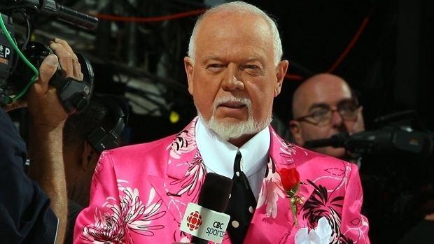 Don Cherry Ice Bucket Challenge Don Cherry 39best dressed39 NHL on