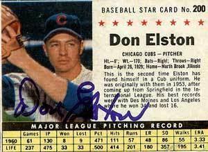 Don Elston wwwbaseballalmanaccomplayerspicsdonelstona