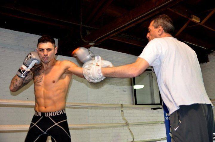 Don George (boxer) Photos Don George Kermit Cintron Lopez Workouts Boxing News
