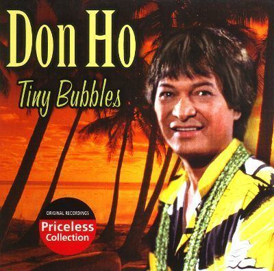 Don Ho Tiny Bubbles Collectables Don Ho Songs Reviews