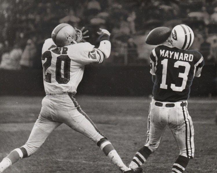 Don Maynard WFL World Football League Players