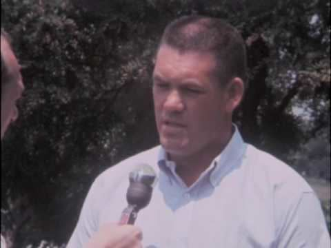 Don Oakes (American football) 072268 Don Oakes professional football player comments on