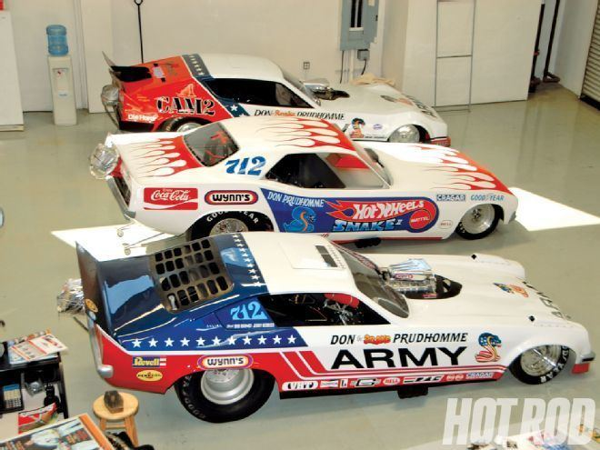 Don Prudhomme Don Prudhomme Snake Racing Headquarters Tour Hot Rod