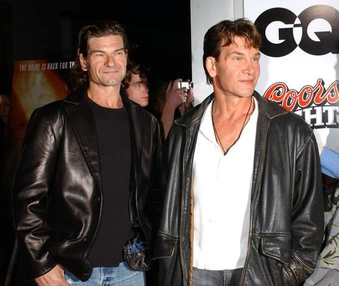 Don Swayze Patrick Swayzes Lookalike Brother Don Marries Girlfriend Life Style