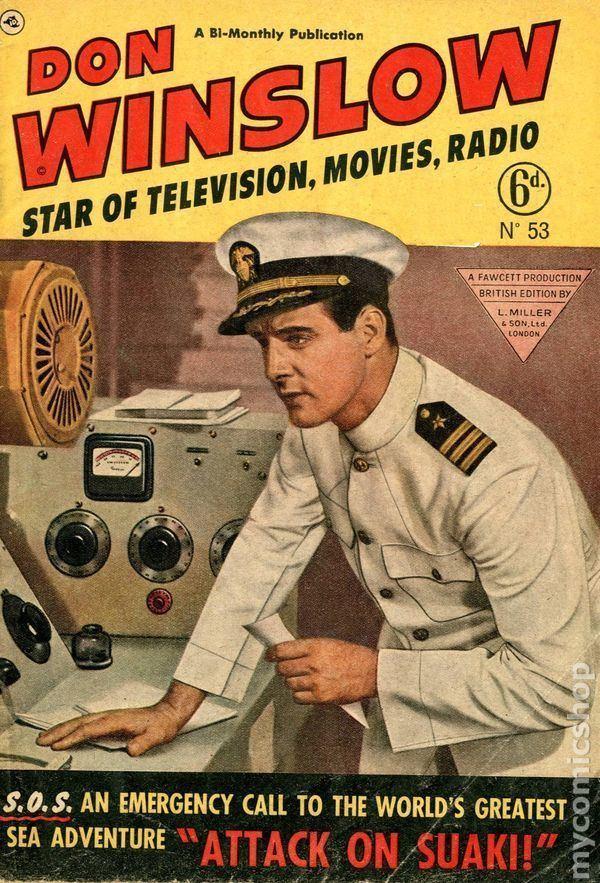 Don Winslow of the Navy Don Winslow of the Navy 1943 Fawcett UK Edition comic books