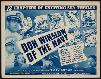 Don Winslow of the Navy Thrilling Days of Yesteryear Don Winslow of the Navy 1942