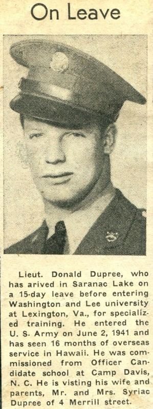 Donald Dupree Information about Donald Dupreejpg on donald dupree Historic