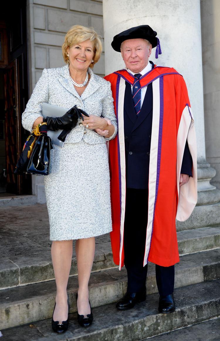 Donald Gosling Hon Rear Admiral Sir Donald Gosling KCVO RNR awarded honorary degree
