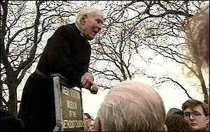 Donald Soper, Baron Soper BBC News UK Heckle and Hyde marathon mission reaches 95