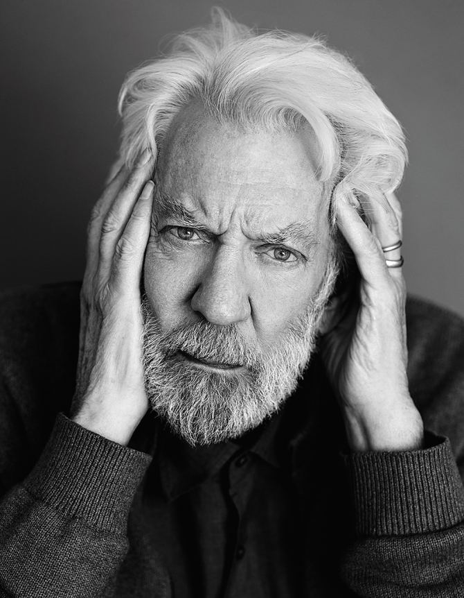 Donald Sutherland The Hunger Games Donald Sutherland Reflects on Long