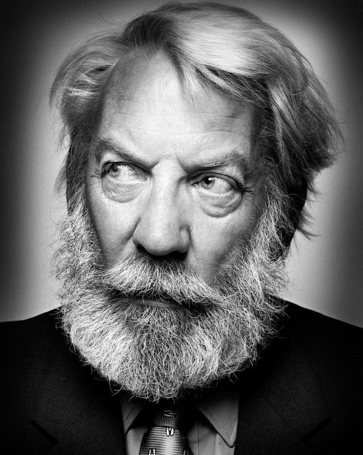 Donald Sutherland CLM platon Donald Sutherland Lookbooks the Technology behind
