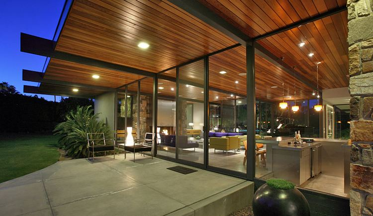 Donald Wexler Don Wexler39s midcentury palm springs home for Dinah Shore