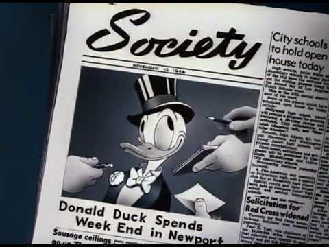 Donald's Dilemma Donald Duck Donalds Dilemma 1947 YouTube