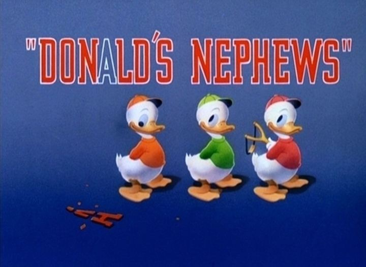 Donald's Nephews Donalds Nephews 1938 The Internet Animation Database