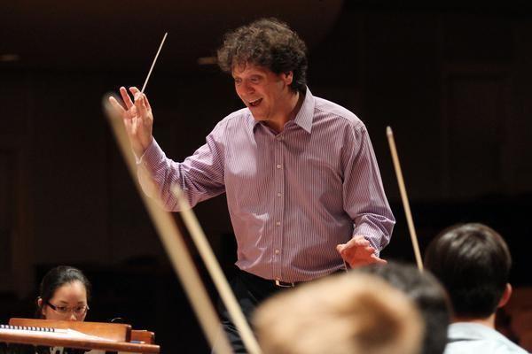 Donato Cabrera Donato Cabrera California Symphonys joyous new conductor The