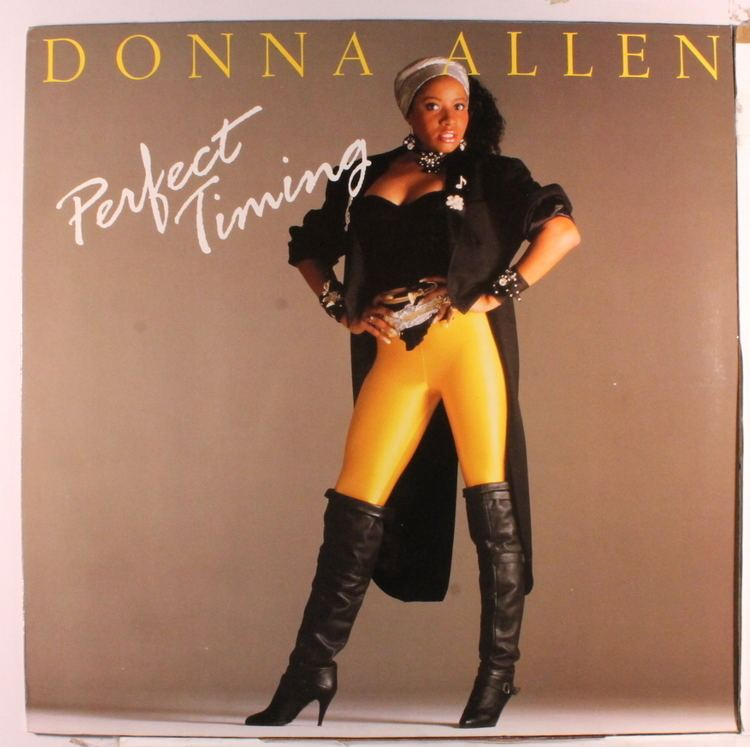 Donna Allen Donna Allen Perfect Timing Records LPs Vinyl and CDs
