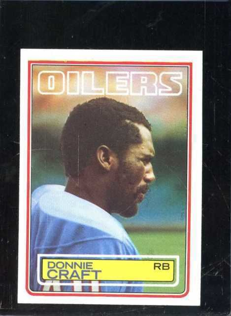 Donnie Craft 1983 Topps Donnie Craft 276 Football Card eBay
