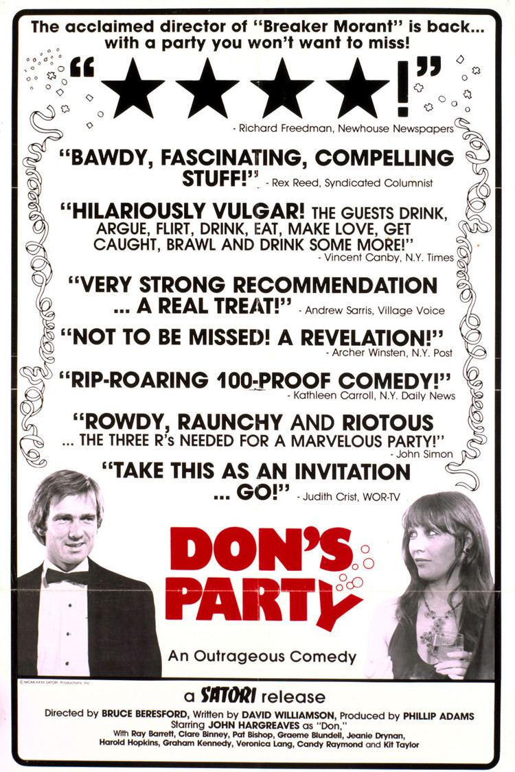 Don's Party wwwgstaticcomtvthumbmovieposters40626p40626