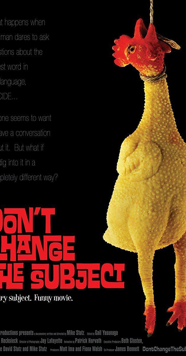 Dont Change the Subject movie poster