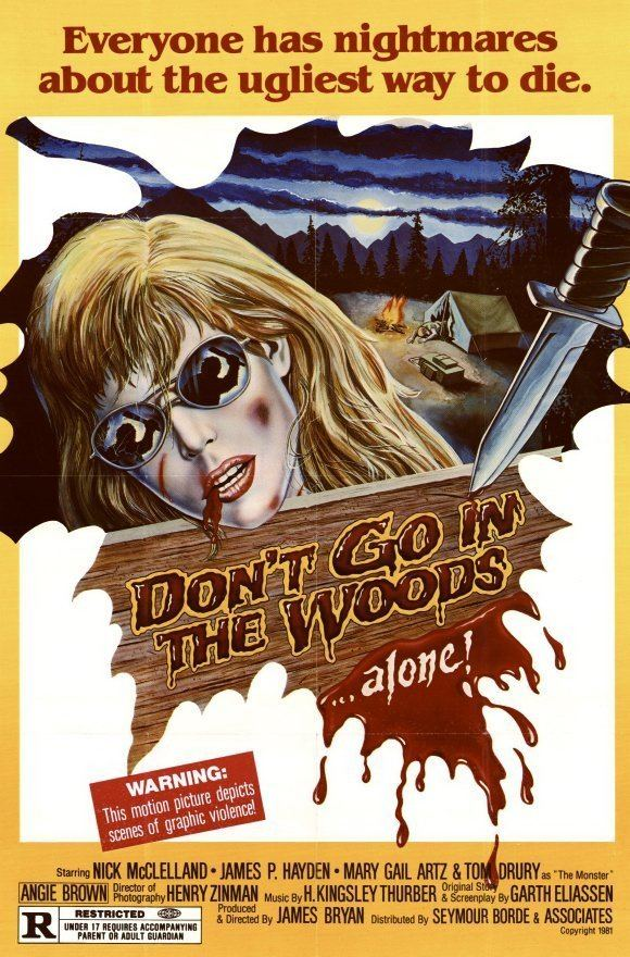 Dont Go in the Woods (2010 film) movie poster