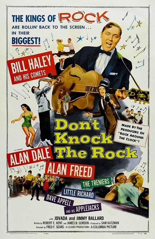 Don't Knock the Rock DONT KNOCK THE ROCK 1956 Movie on DVD Alan Freed DONT KNOCK