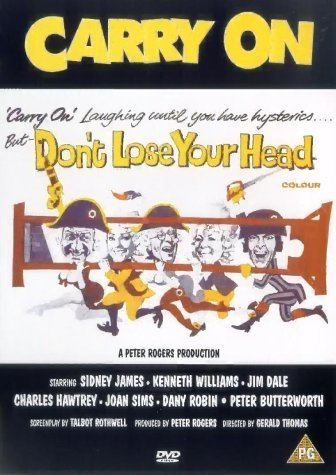 Don't Lose Your Head Carry On Dont Lose Your Head 1966