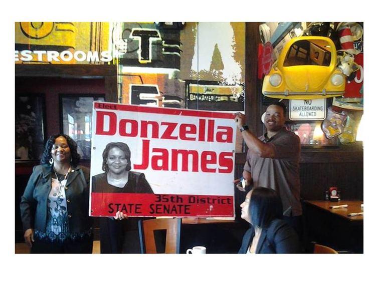 Donzella James Donzella James GA State Senate