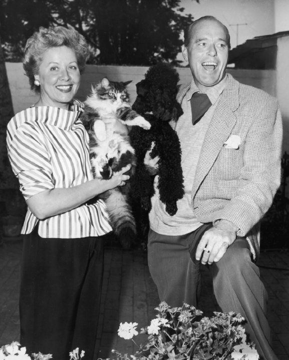 Dore Schary Vivian Vance and her husband Philip Ober who guest starred