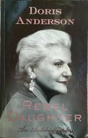 Doris Anderson Canadian Author Activist Doris Anderson Signed Softcover Book eBay