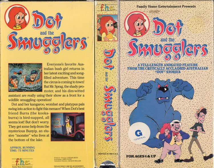 Dot and the Smugglers RetroDaze VHS Covers