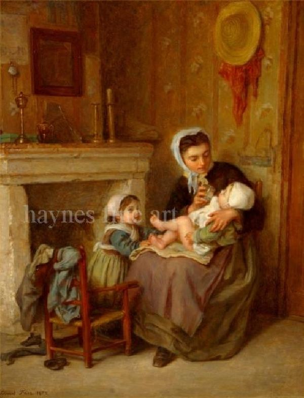 Edouard Frere Pierre Edouard Frere Artist Biography and Works for Sale