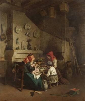Edouard Frere Pierre Edouard Frere Artist Fine Art Prices Auction