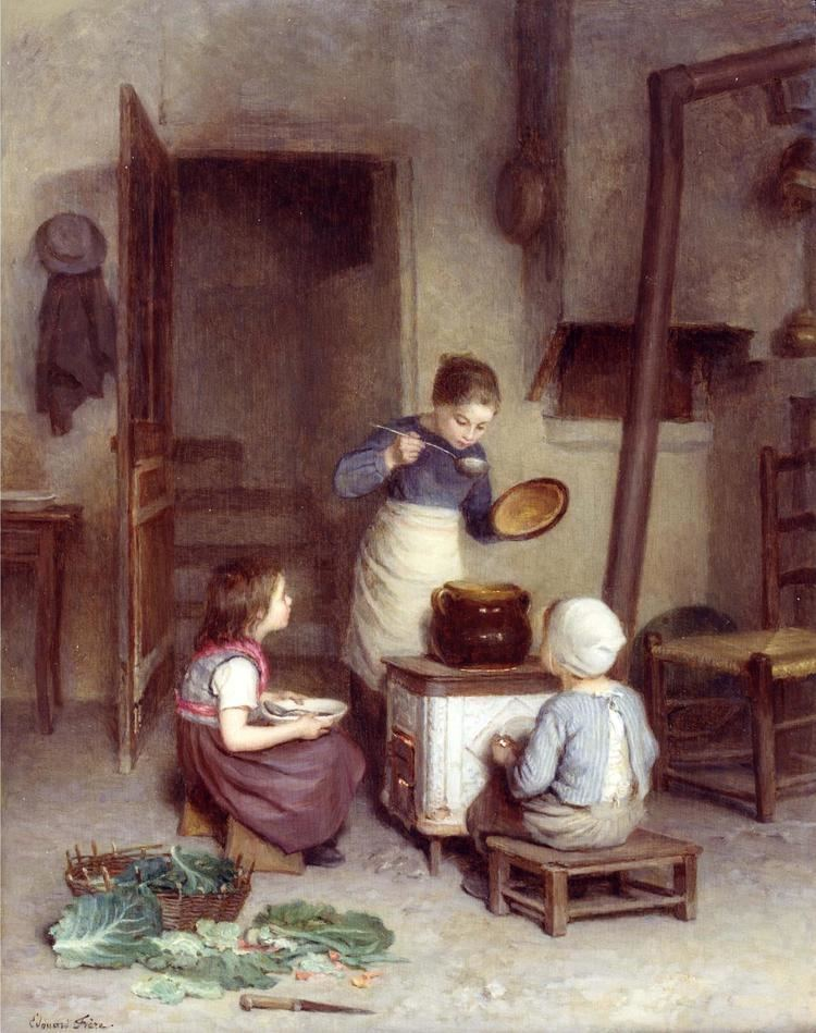 Edouard Frere Edouard Frere 1819 1886 The Young Cook