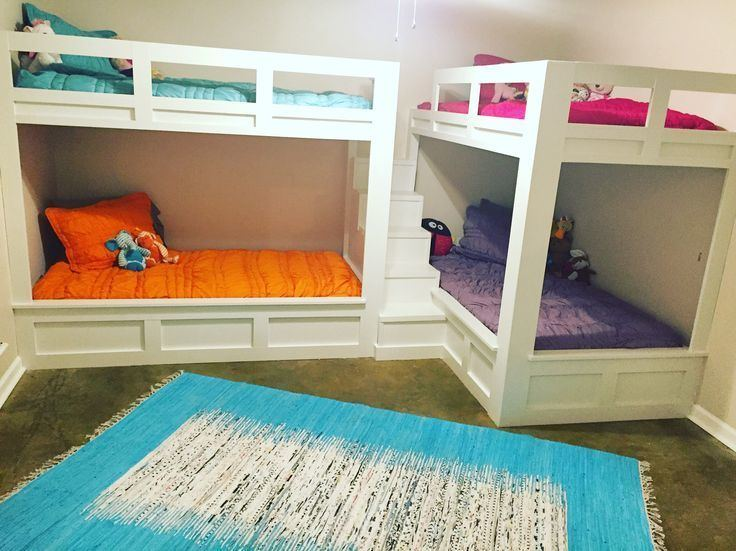 Double Bunk Best 25 Double bunk beds ideas on Pinterest Four bunk beds Bunk