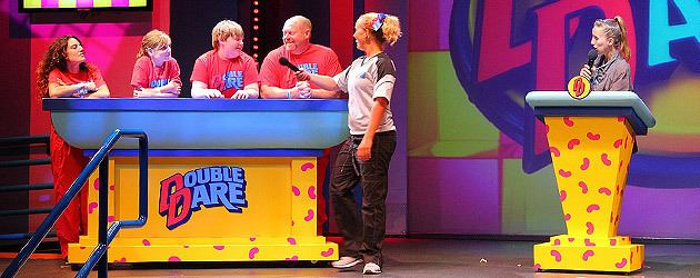 Double Dare (Nickelodeon game show) Double Dare Live brings back all the fun of the classic Nickelodeon