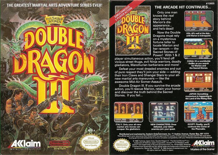 Double Dragon Iii The Sacred Stones Alchetron The Free Social