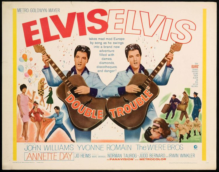 Double Trouble (1967 film) ELVIS MONTH DAY 24 Double Trouble 1967 Ruby Canoe Design