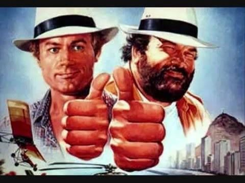 Double Trouble (1984 film) Sprche von Terence Hill und Bud Spencer Bud Spencer Terence